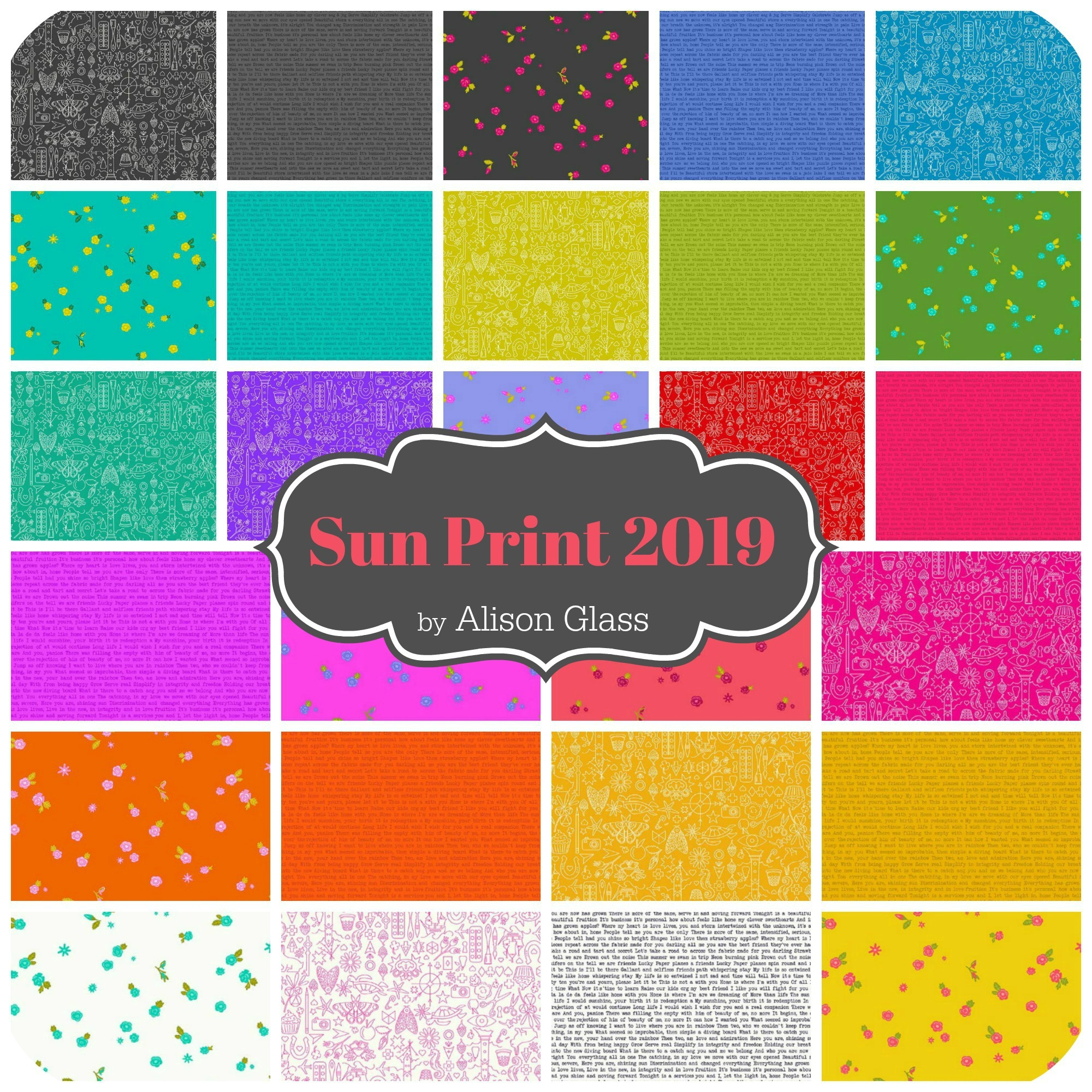 Sun Print 2019 by Alison Glass