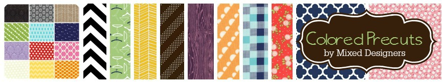Colored Precuts by Southern Fabric for Southern Fabric