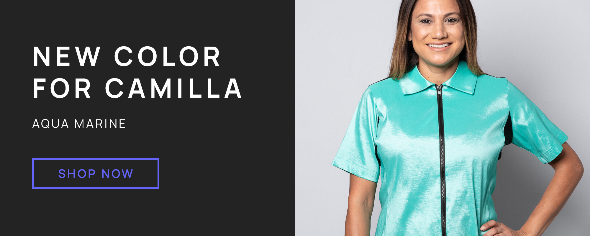 New color for Camilla - Aqua Marine