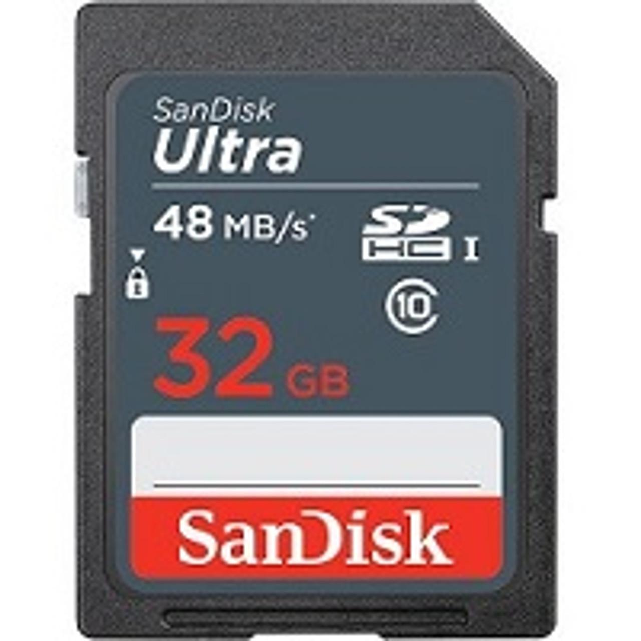 32GB Sandisk Ultra Card Included in Spartan GoCam Package
