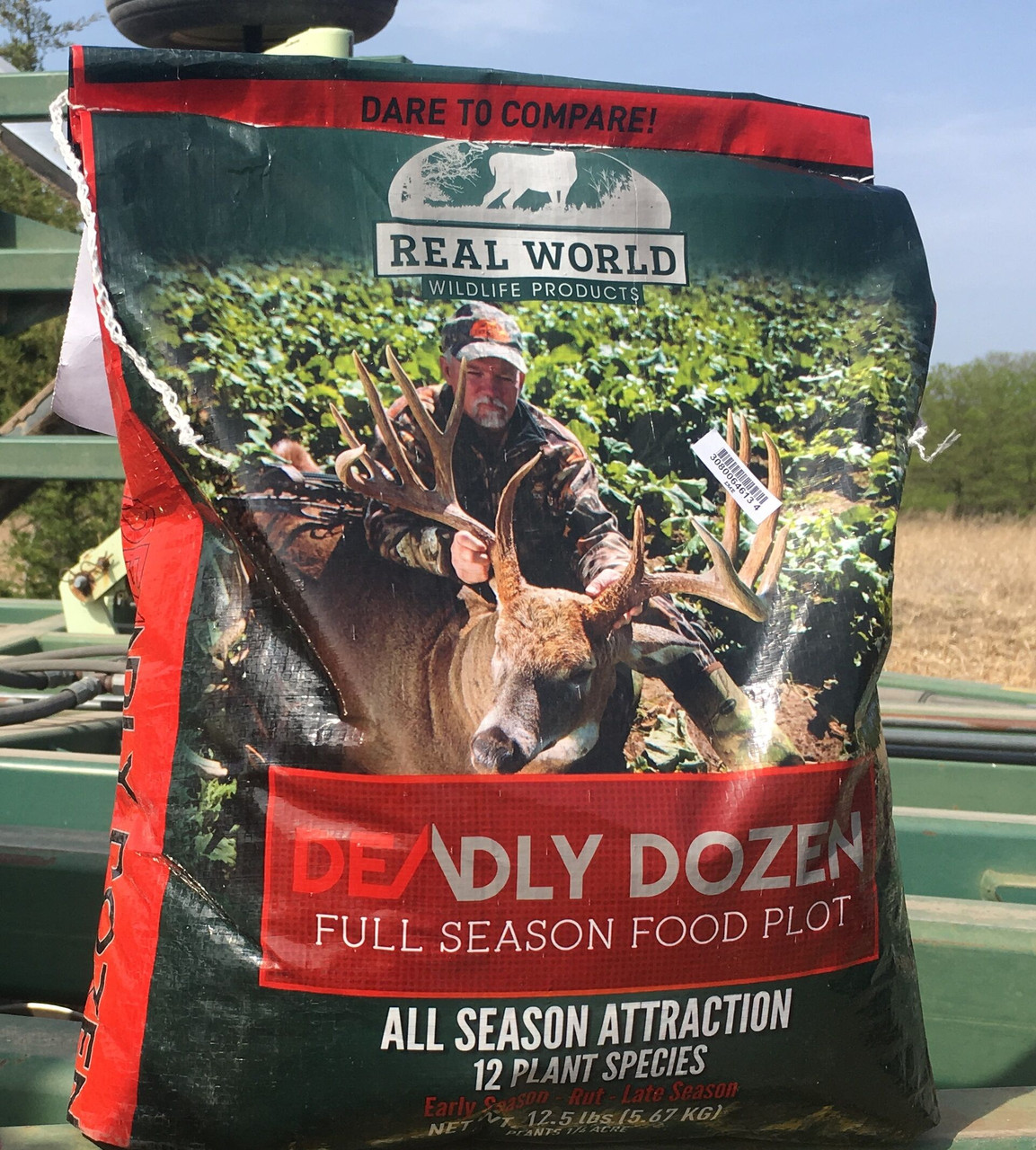 Bag Of Real World Deadly Dozen Food Plot Seed Mix