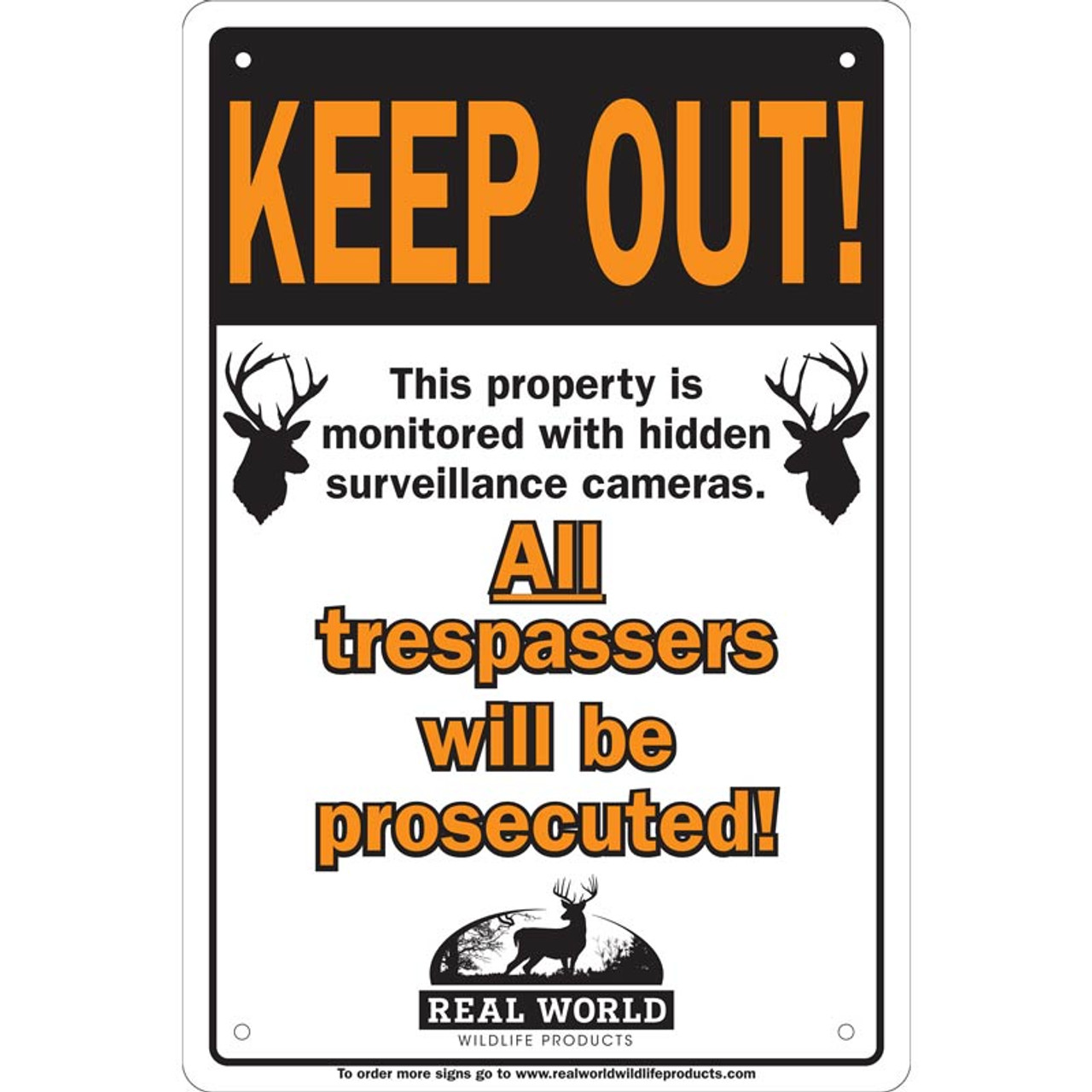 Real World Keep Out Signs