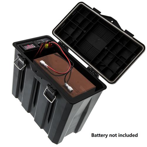 Battery Box Open
