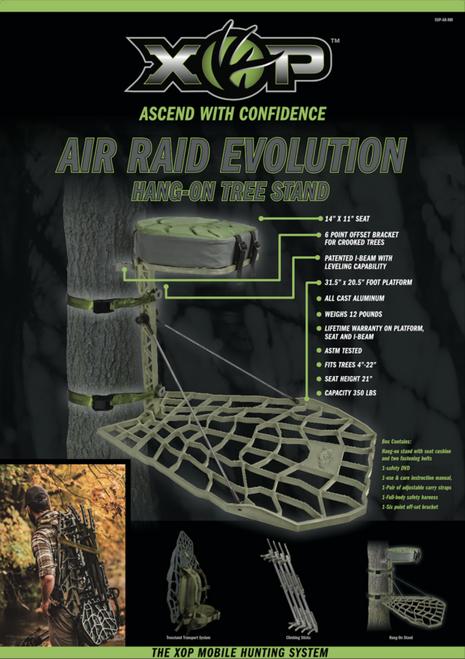 XOP AIR RAID TREESTAND