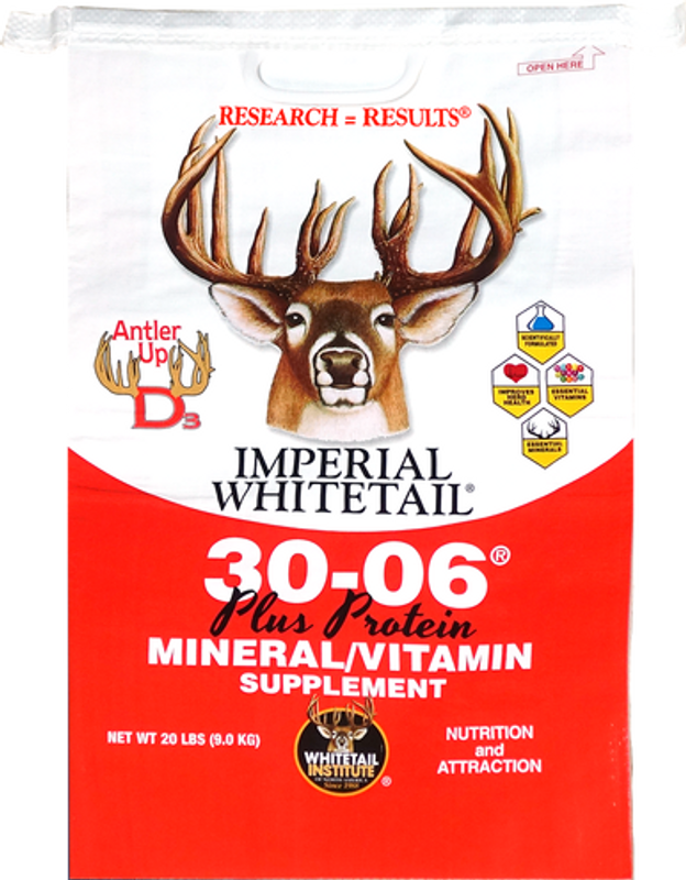 Whitetail Institute Imperial 30-06 Mineral & Protein 5 lbs