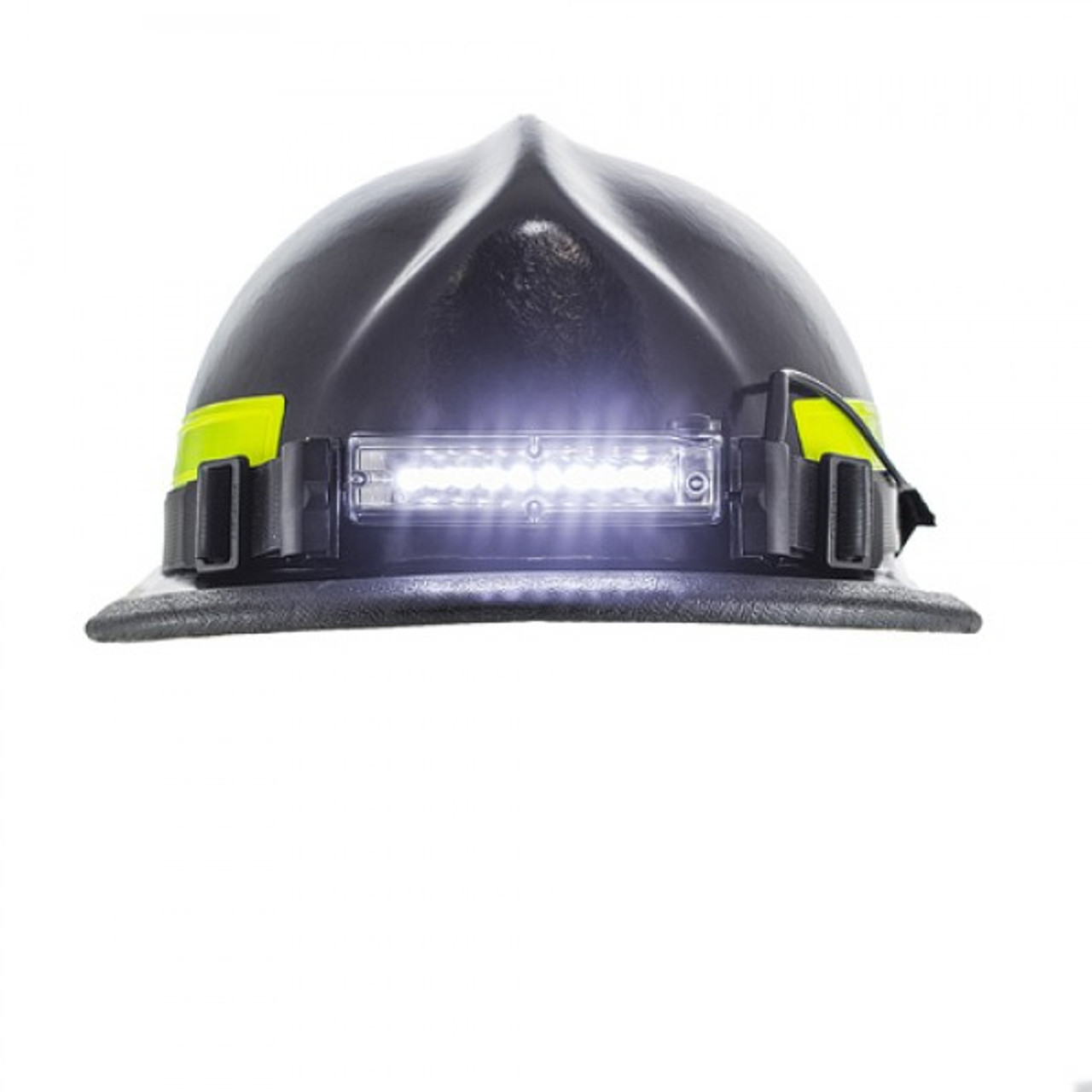 Ultra-slim 10 LED Firefighter Helmet Light with Rear Safety LED