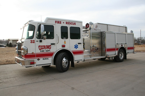 Gering Rural Fire Dept. Toyne Truck