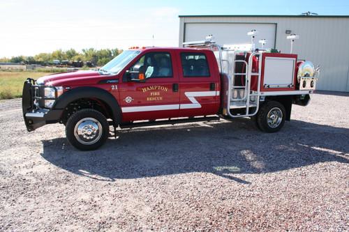 Hampton Fire Dept FYR-TAK 350