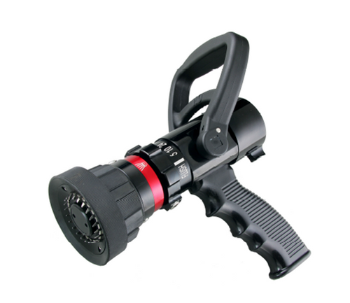 "Ally 1"" Selectable flow nozzle complete with pistol grip 5-10-24-40 GPM"