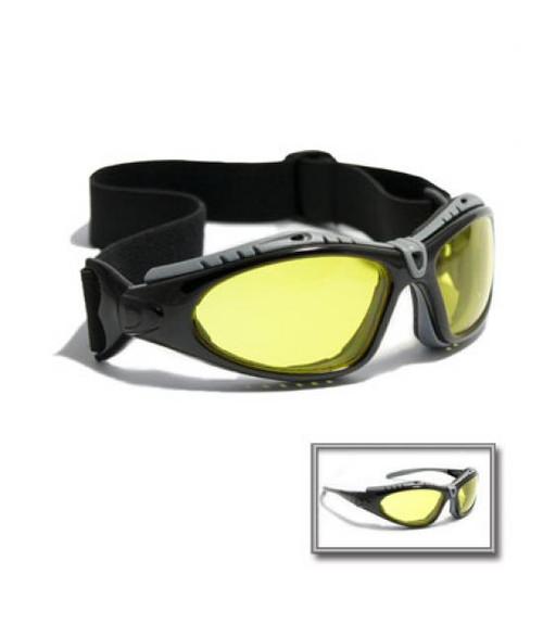 Fuselage Glasses Amber Lens