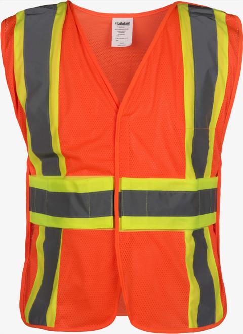 5-Point Breakaway Public Safety Vest - Mesh