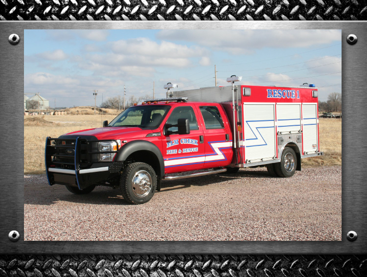 elm creek nebraska fire rescue truck