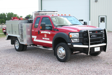 Hildreth Fire Refurbished Rescue Truck