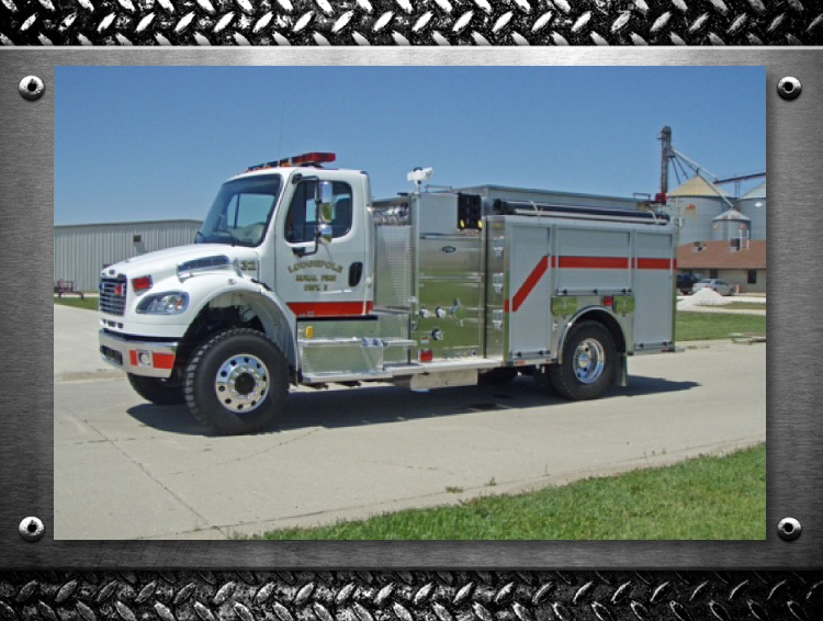 Toyne Trucks built for your Fire Department Lodgepole Nebraska