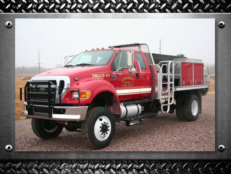 spalding fire department truck by fyr-tek