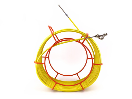 """CustomEyes (CE516KIT50) 5/16"""" x 50' Cyclone Pipe Cleaning Unit"""