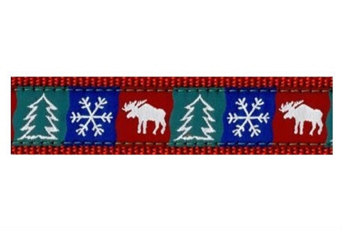 Winter Patches Leash