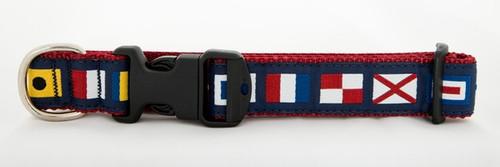 A to Z Code Flag Collar