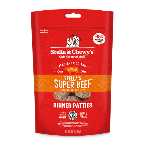 Chewy's Freeze Dried Beef Dinner Pattys
