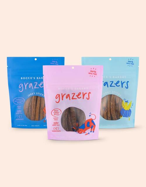 Bocce's Grazer Jerky Treats