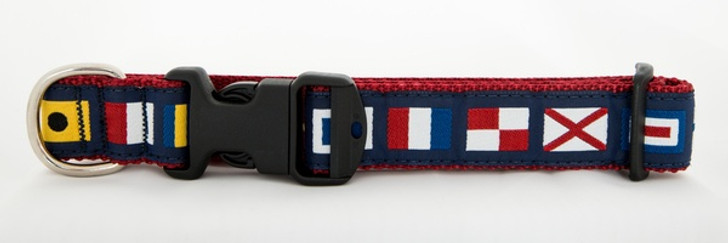 A to Z Code Flag Collar