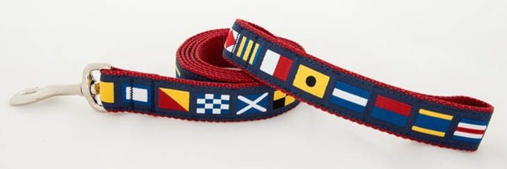 A to Z Code Flag Leash