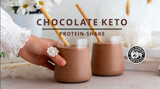 CHOCOLATE KETO PROTEIN SHAKE
