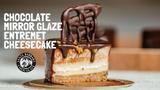 Chocolate Mirror Glaze Entremet Cheesecake