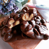Easy Milk Chocolate Peanut Clusters