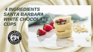 Vegan White Chocolate Peanut Butter Cups