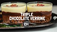 Triple Chocolate Verrine
