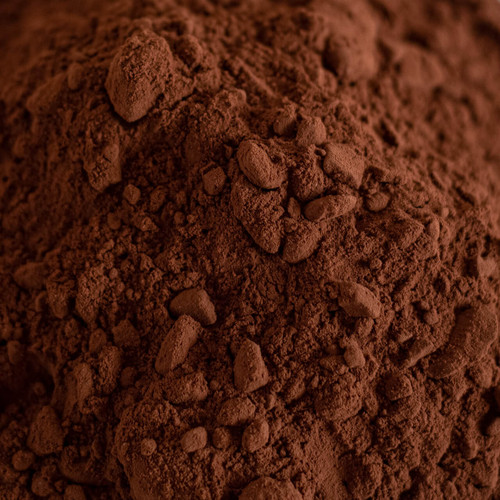 Unsweetened Cocoa Powder with a Red Color.