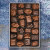 Crunchy and chewy chocolate candy gift box by Santa Barbara Chocolate.