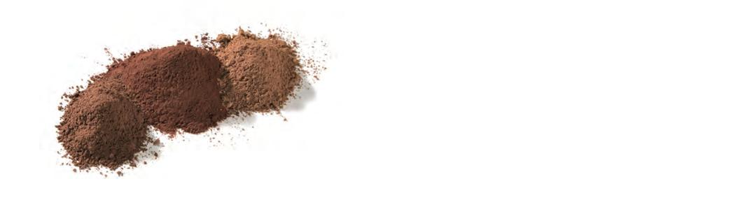 pure cocoa powders