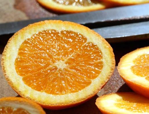 Making Fresh Orange Zest