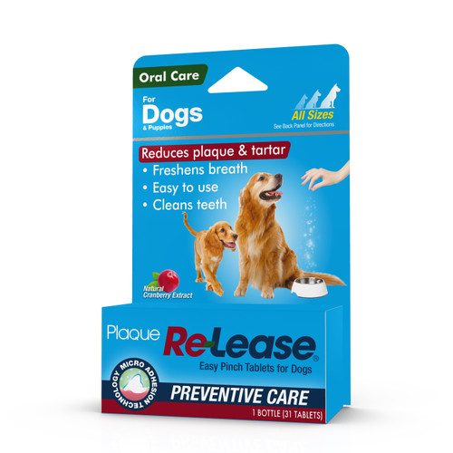 Plaque Re-Lease Easy Pinch for Dogs