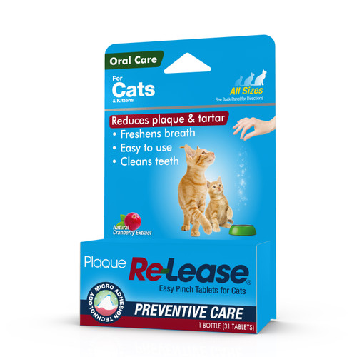 Plaque Re-Lease Easy Pinch for Cats