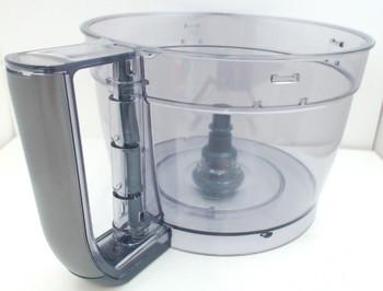 Cuisinart 13-Cup Elemental Food Processor Large Work Bowl Gun Metal, FP-13GGMWB