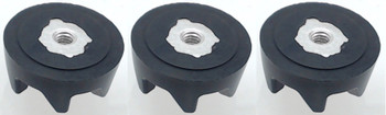 Blender Rubber Coupler Clutch, 3 Pack for KitchenAid AP2930430 PS401661, 9704230