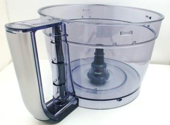 Cuisinart 13-Cup Elemental Food Processor Silver Large Work Bowl, FP-13SVWB