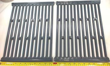 Porcelain Steel Cooking Grid for Weber Gas Grills, Set of 2, 58682