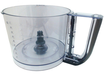 Cuisinart 11-Cup Elemental Food Processor Gunmetal Work Bowl, FP-11GMWB