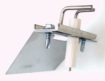 Ceramic Gas Grill Electrode with Mounting Bracket for Tuscany, 01683