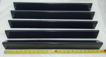 Porcelain Steel Heat Plate for Weber Gas Grill Models, Set of 5, 95365