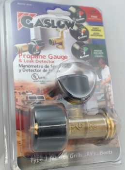 Gas Guard Gas Grill Propane LP Tank Gauge Works off Pressure QCC1 Fitting AD-2G