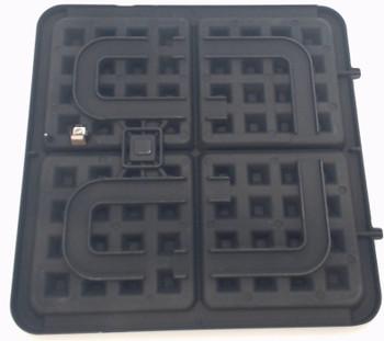 Cuisinart Belgian Waffle Maker Lower Waffle Plate, WAF-300LWP