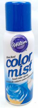 Wilton 1.5 Oz  Blue Color Mist Food Color Spray, 710-5501