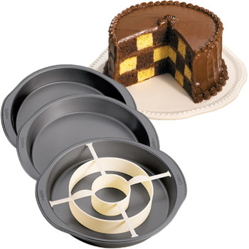 Wilton Checkerboard Cake Pan Set, 2105-9961