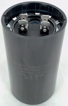 Start Capacitor, Round, 460-552 Mfd., 110 Volt, CS460-552X110
