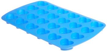 Wilton Easy-Flex Silicone Bakeware, 24 Cavity Mini Heart Mold, 2105-4909